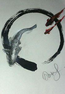 Koi & Zen circle