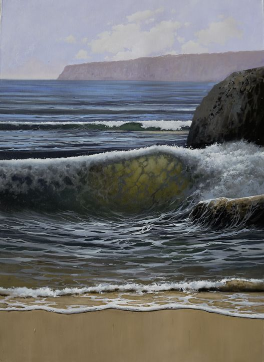 Towards the sea - Isabel Robledo