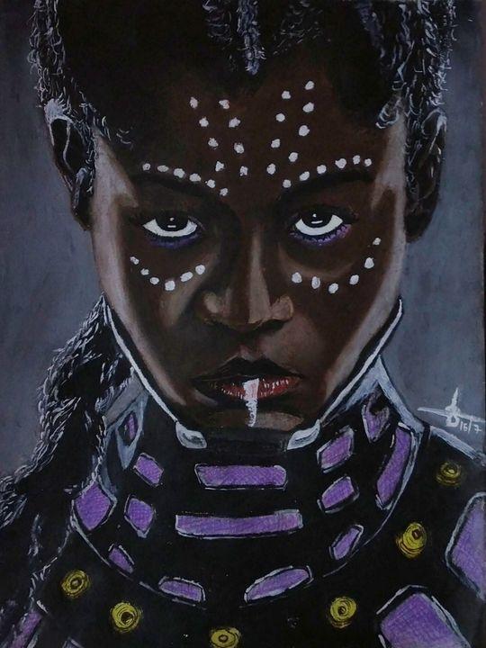 Shuri sketch from black panther - Sudheer