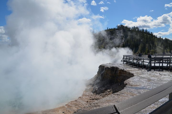 Yellowstone Geysers - Mark Scott Thompson