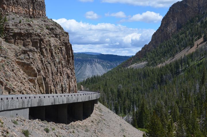 Bridge Around Yellowstone - Mark Scott Thompson