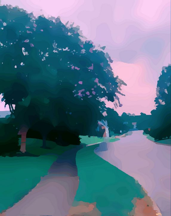 Pink Pathway - ACartistry