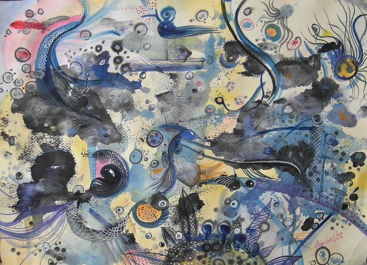 Under the sea - Gabriela's art collections