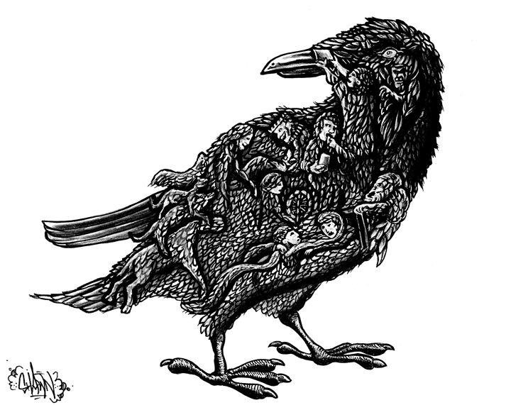 Brothers Grimm Raven - Satire (SEVS)