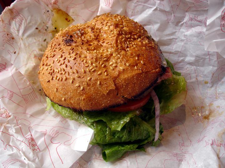 Healthy Burger - Photo Life Generation