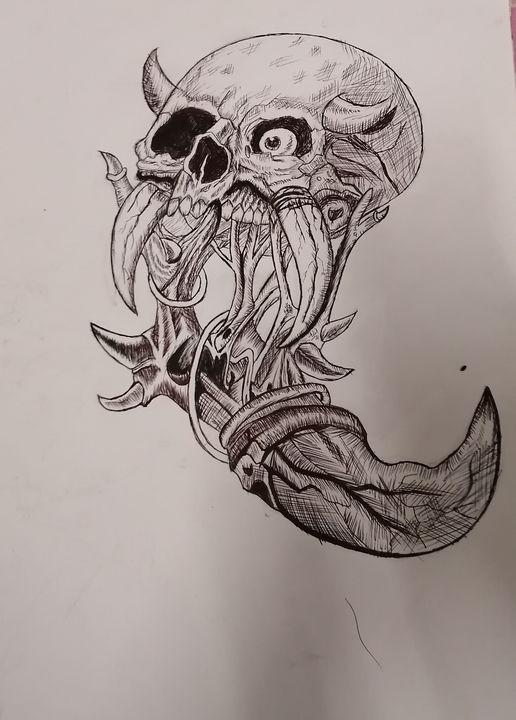 Skull - Laee arts