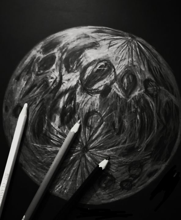 Moon - Laee arts