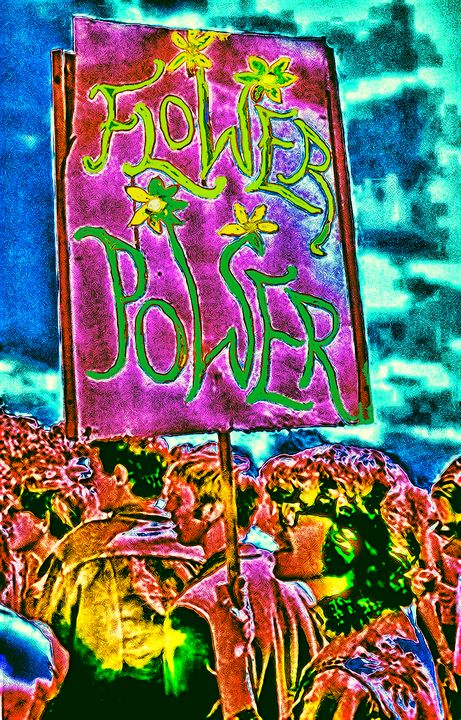 flower power - My Music Art