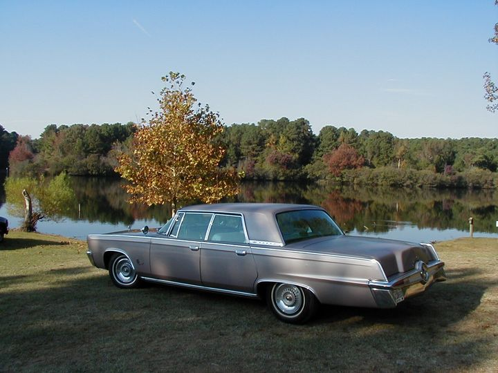 1964 Imperial by the lake - My Music Art