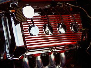 Flathead Engine Chrome