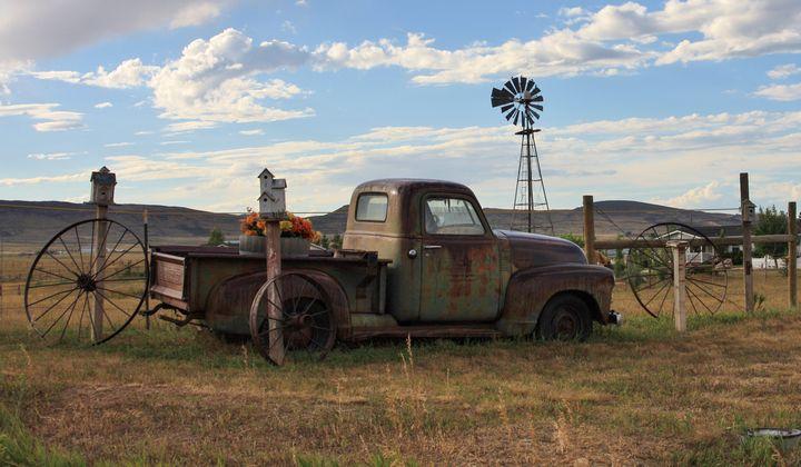 Colorado rusty truck - My Music Art