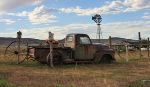 Colorado rusty truck
