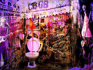 CBGB's Bathroom