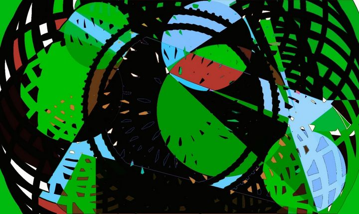 Looking into space - Helen DiQuinzios Digital Art