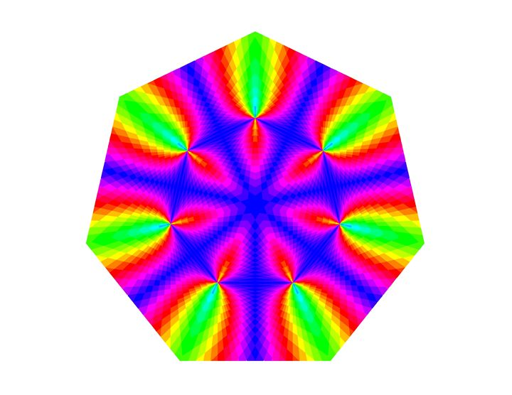 """Rainbow Spin"" - SYMMO GRAPHICS"