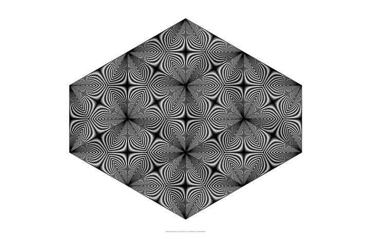 """Hexagramafied"" - SYMMO GRAPHICS"