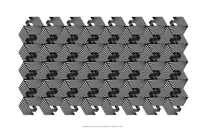 """Box Pattern"" - SYMMO GRAPHICS"