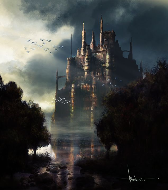 Castle in the Lake - Virnesat