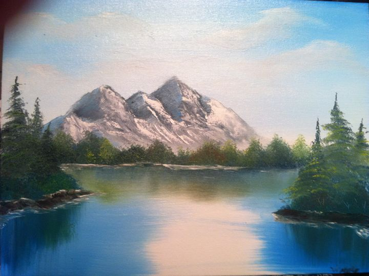 Mountains in the afternoon - Wakeley Paintings