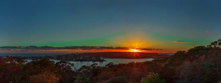 dawn at the shore - A Vision