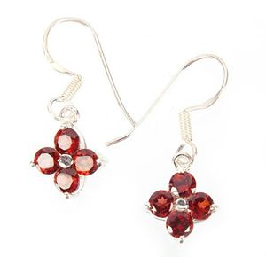 Sterling Silver Awesome Garnet - Midas Craft