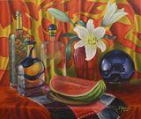70 x 80 oil on canvas