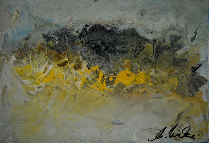 Landscape in Yellow - Timeless Art On Canvas