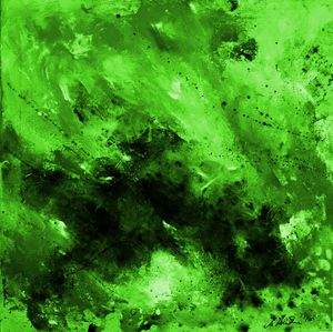 Green Power - Timeless Art On Canvas