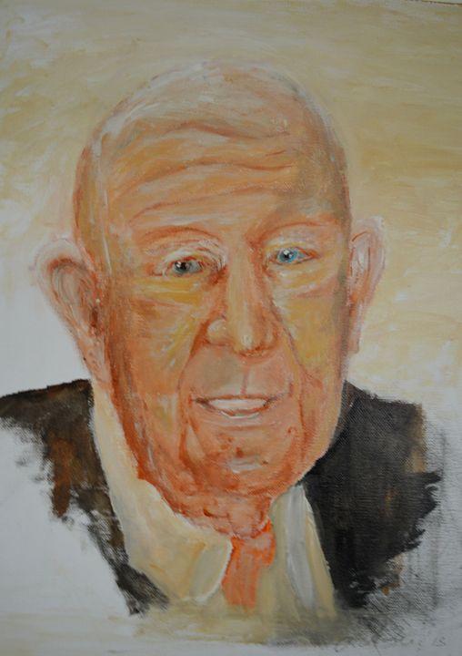Grandpa - Timeless Art On Canvas