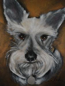 Schnauzer No.2 - Timeless Art On Canvas