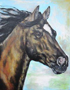 Running Horse - Timeless Art On Canvas