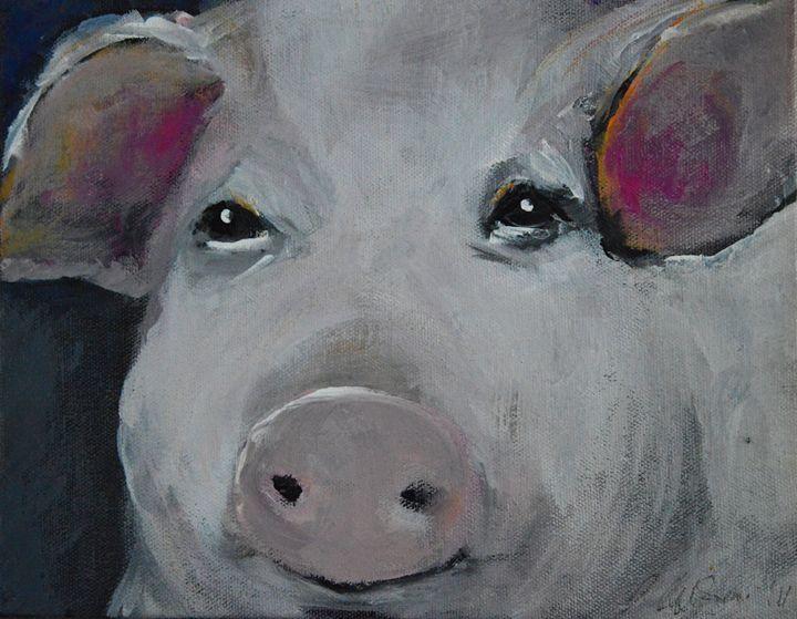 The Three Little Piggies (No.1) - Timeless Art On Canvas