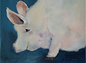 The Three Little Piggies (No. 3) - Timeless Art On Canvas