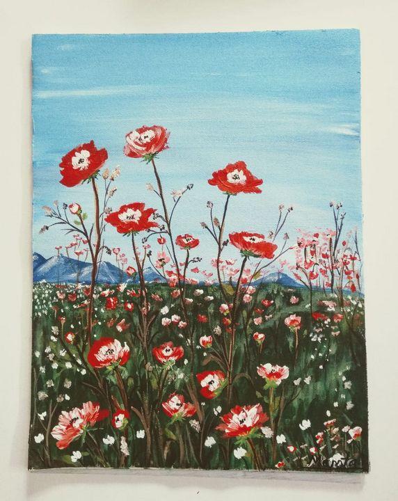 Flowers for you - Mamta's artwork