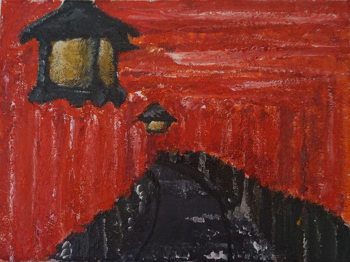 Fushimi Inari lanterns - KaiSkjold