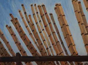 Drying Bamboo