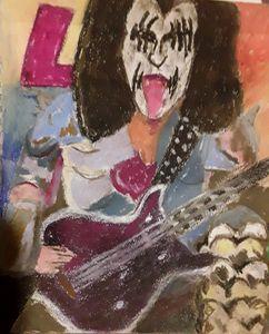 THE TONGUE,  bassist  of kiss