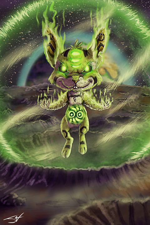 Gyokuto the Rabbit Moon Guardian - Jax Designs: The Art of Jaxon Keller