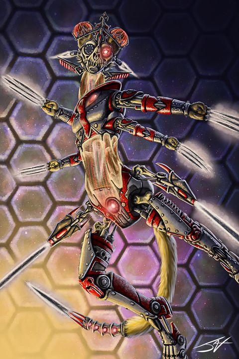 Killer Queen - Jax Designs: The Art of Jaxon Keller