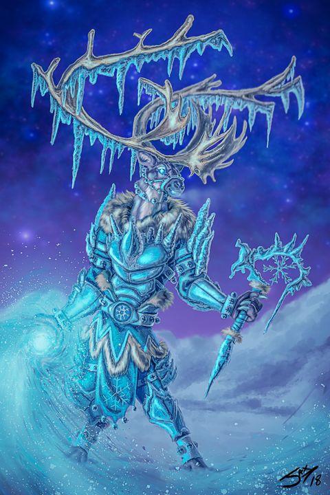 Winter Warlock - Jax Designs: The Art of Jaxon Keller