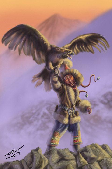 Eagle Hunter - Jax Designs: The Art of Jaxon Keller