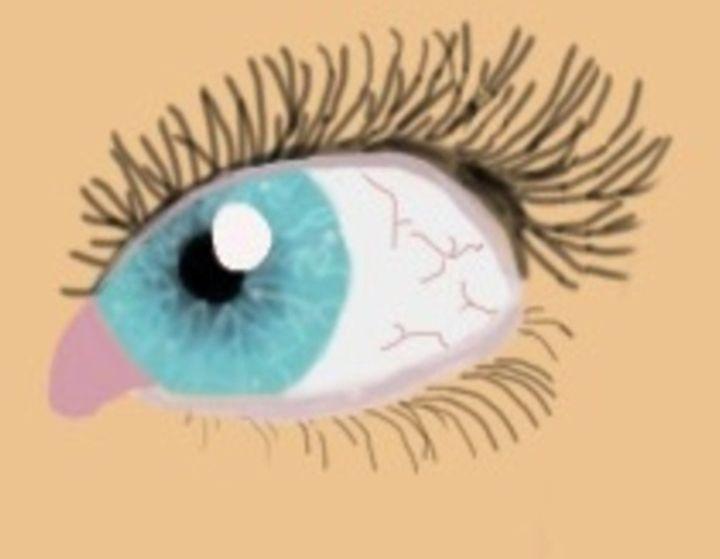 badlands inspired eye - megan