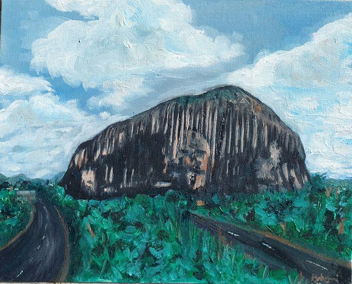 Zuma rock - Paintings by Fatima YG