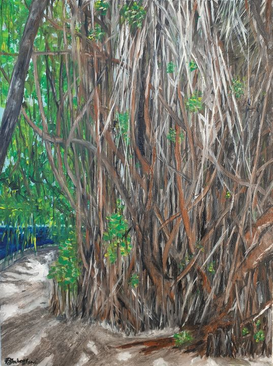 Deep roots - Paintings by Fatima YG