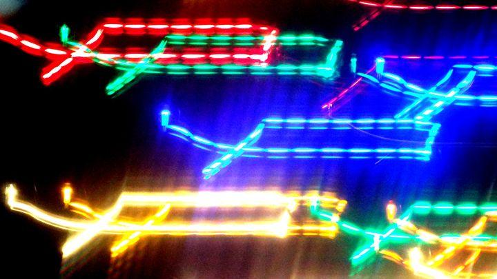 Lighted Boxes - MammaTrain
