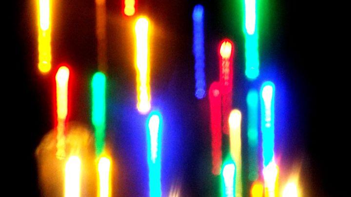 Neon Candles - MammaTrain