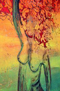 Autumn Tree Lady