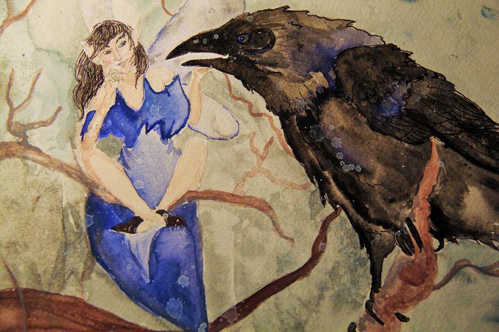 Winter Fairy - Anna Poh Art