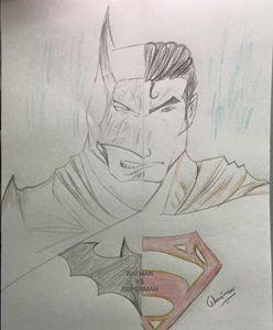 BATMAN VS SUPERMAN - Harsimran singh