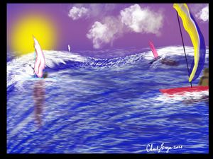 Sailing in rough waters